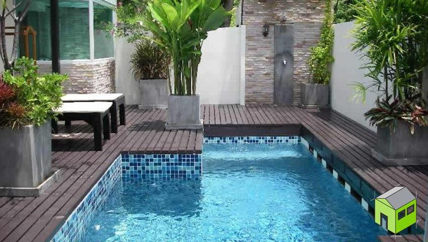 Piscina con cascada de piedra simple download piscina for Piscinas naturales las palmas